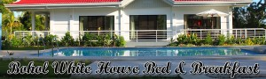 bohol white house bed and breakfast head