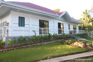 Bohol White House In Lila070